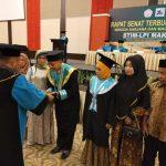 Wisuda Sekolah Tinggi Ilmu Manajemen Lembaga Pendidikan Indonesia (STIM LPI) Makassar